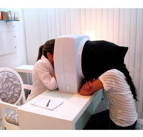 derma scan estek pele luz wood estética dermatologia bivolt