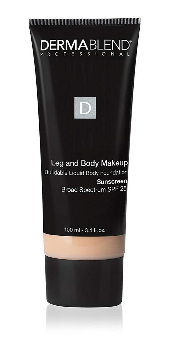 989e85f1a Dermablend Leg And Body Makeup Base Facial E Corporal 100ml - R$ 259,90 em  Mercado Livre