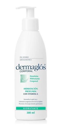 dermaglos crema corporal hidratacion inmediata x 300 ml