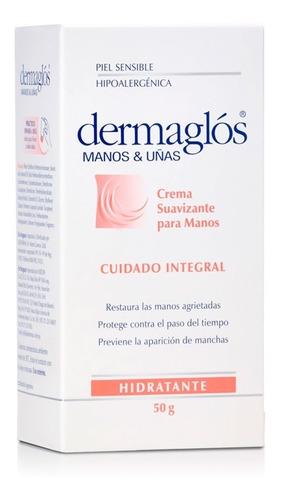 dermaglós manos y uñas crema hidratante restauradora 50g
