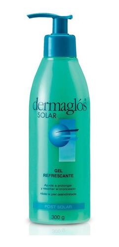 dermaglós post solar gel refrescante prolonga el bronceado pieles sensibles 300 gramos