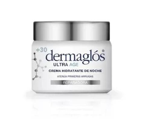 dermaglos ultra age noche reparadora hidratante +30 x 50 grs