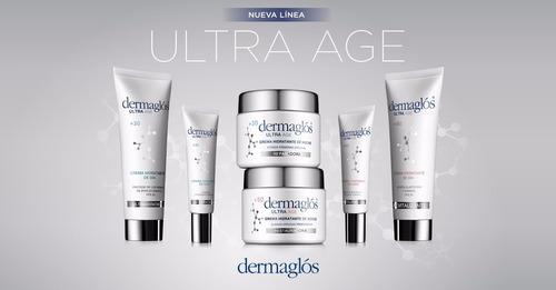 dermaglos ultra age set completo de cremas anti edad +50