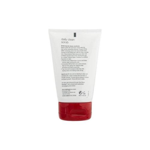 dermalogica daily clean scrub, 4 onzas líquidas