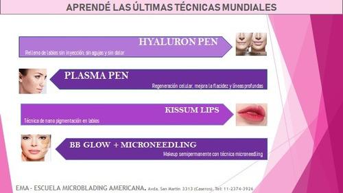 dermapen, bb glow, hyaluron pen, kissum lips, plasma pen