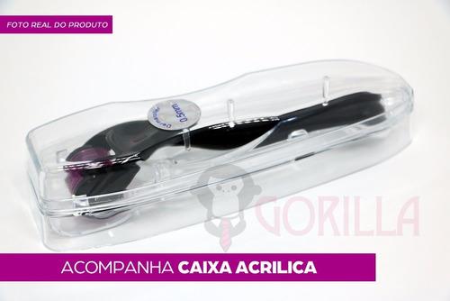 dermaroller 0.5mm ate 2.5mm 540 agulhas derma roller system