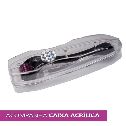 dermaroller derma roller system 0.5mm ate 2.5mm 540 agulhas