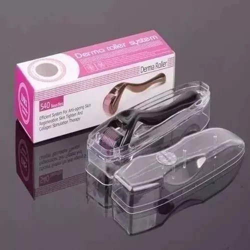 dermaroller derma roller system 540 agulhas = 0.5mm