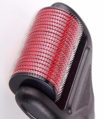 dermaroller rodillo agujas derma roller 4 en 1 con repuestos