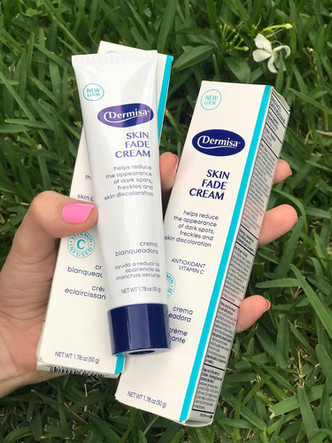 dermisa crema blanqueadora anti manchas 50gr 100% original