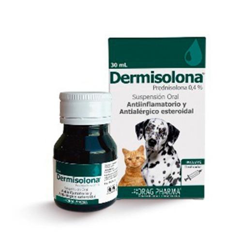 dermisolona suspención oral - 30ml - perros y gatos 30ml