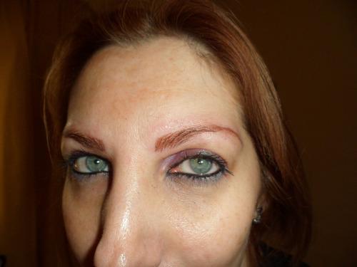 dermopigmentación a domicilio; cejas, parpados & labios.
