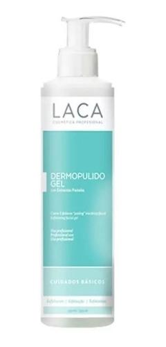 dermopulido gel exfoliante 235g laca