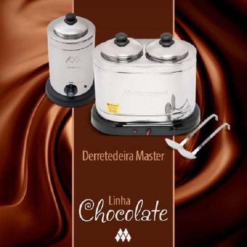 derretedeira master 2 cubas marchesoni 110v ou 220v