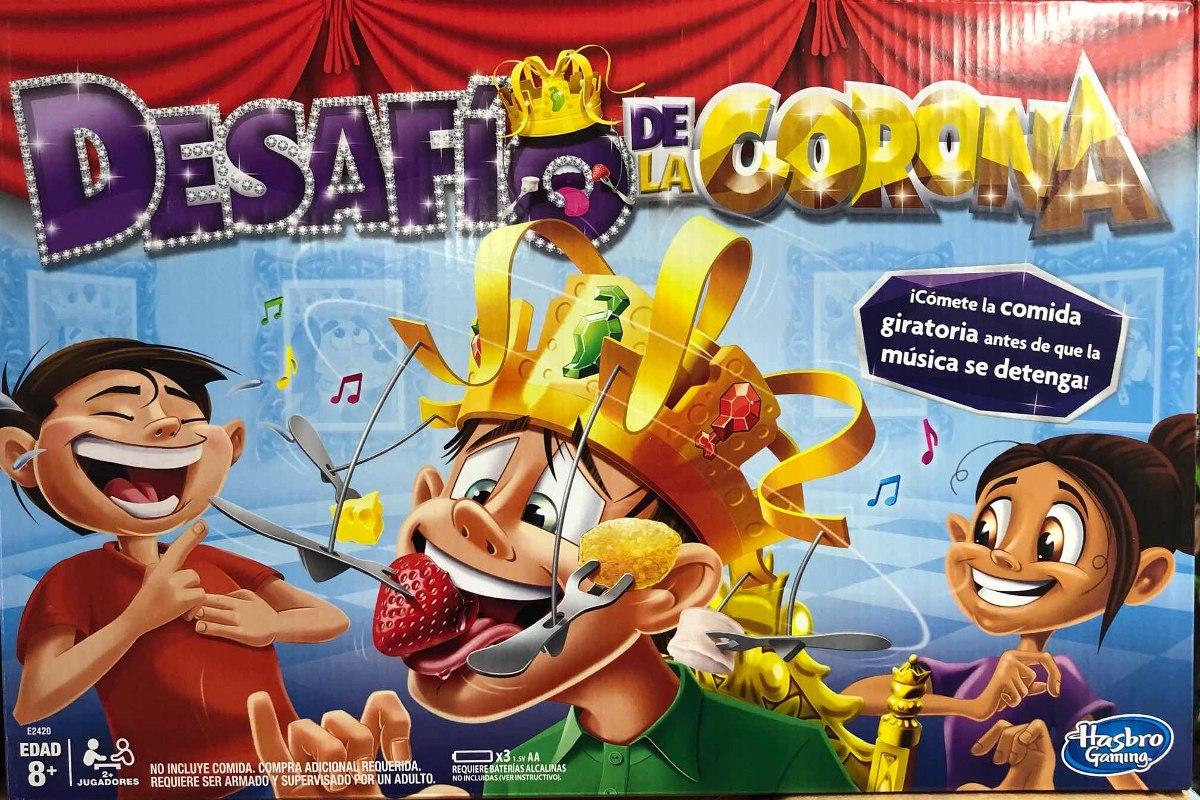 Desafio De La Corona Juego De Mesa Nuevo Hasbro Gaming 720 00 En