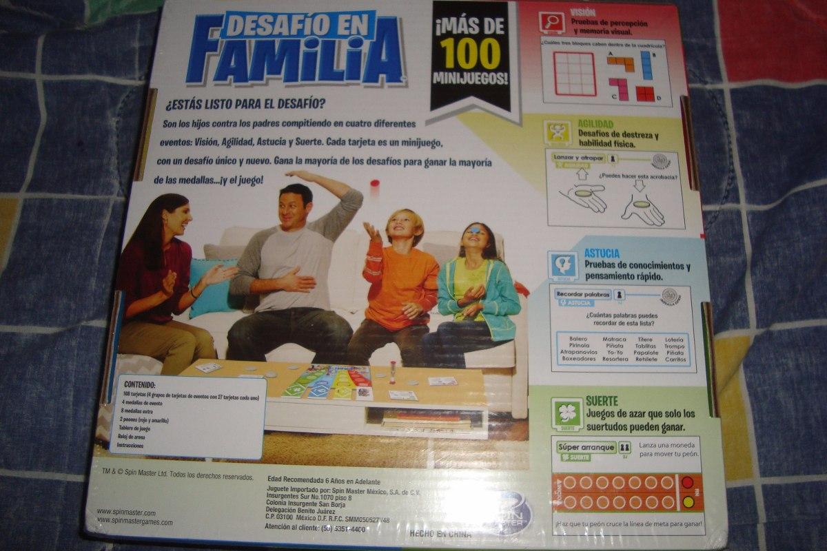 Desafio En Familia Juego De Mesa 650 00 En Mercado Libre