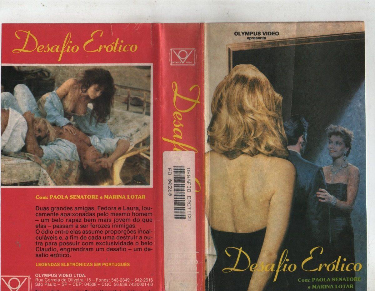 Paola Senatore desafio erótico - paola senatore - marina lotar - raro