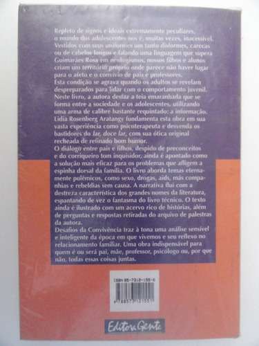 desafios da convivência - lidia rosenberg - educação