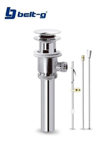 desague automatico lavamanosmetalico cromado belt-g gri-1449