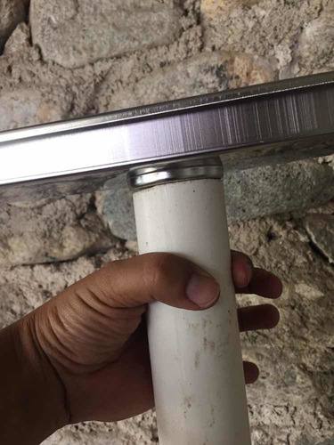 desague coladera para baño o patio, 70x10. acero inoxi mod.b