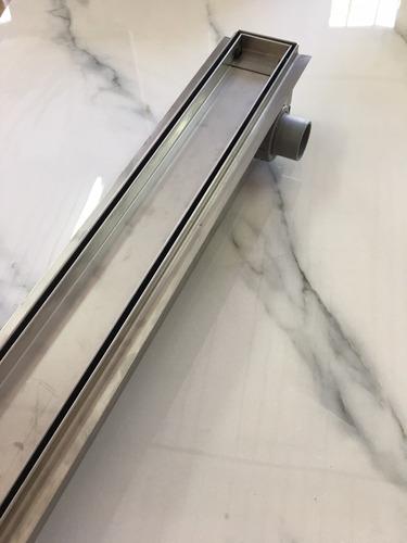 desague ducha lineal fluenza de acero inoxidable inca 70cm