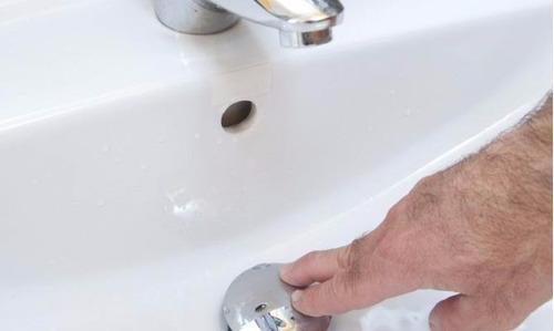 desague para lavamanos tipo push