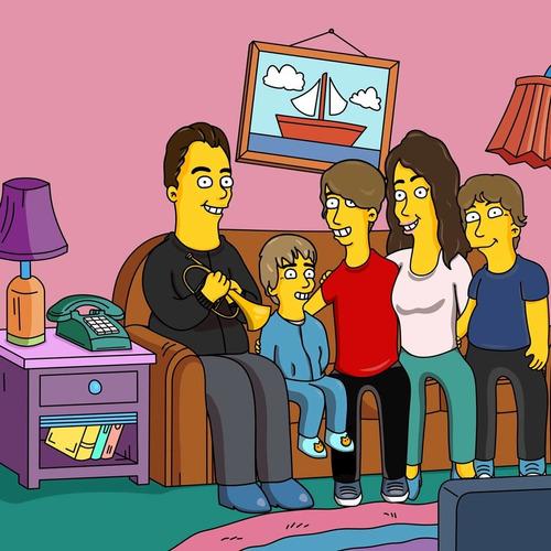 desaingsimpson. únete a la familia amarilla.