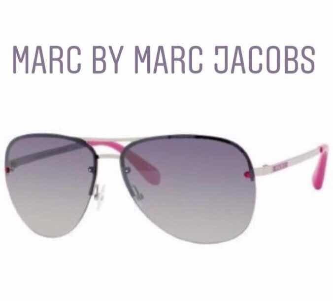 Desapegadoc Óculos De Sol Marc By Marc Jacobs Aviador Pink - R  459 ... 2f8882a365