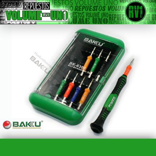 desarmador precision puntas cambiables baku bk 6308