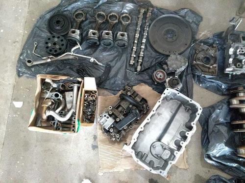 desarme completo de motor vento tdi 140hp/tiguan diesel