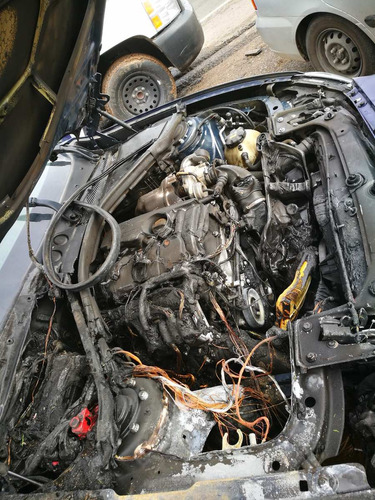 desarmo bmw 120i turbo modelo 2016 solo por partes