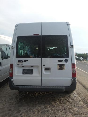 desarmo ford transit tdi pasajeros modelo 2009 por partes