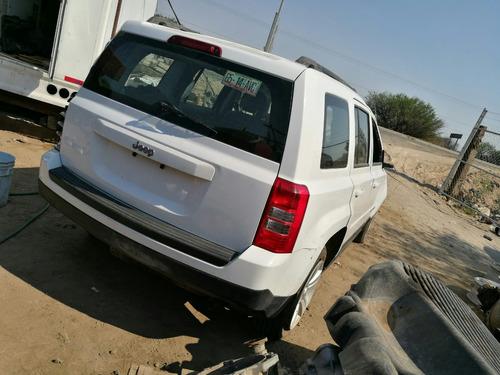 desarmo jeep patriot modelo 2015 solo por partes