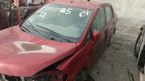 desarmo tiida nissan 2013 piezas refacciones autopartes aut