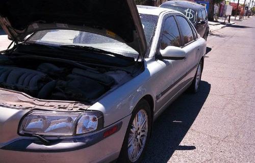 desarmo  vendo partes volvo s80, aut.6 cil 2002 turbo