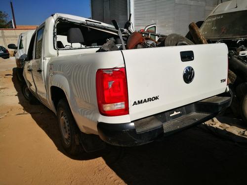 desarmo volkswagen  amarok diesel modelo 2014 por partes