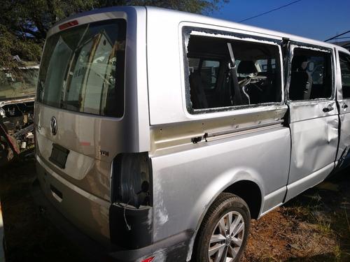 desarmo volkswagen transporter tdi 2016 pasajera por par