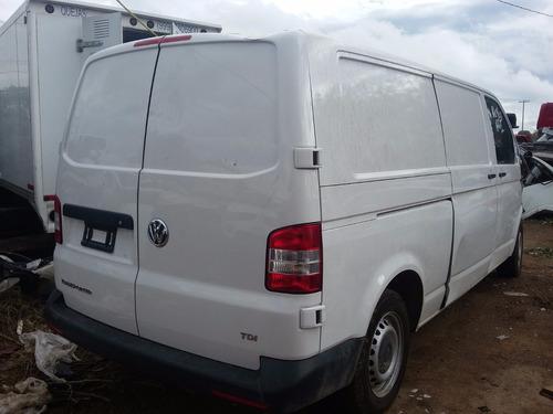 desarmo volkswagen transporter tdi mod 2015 solo por partes