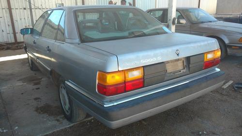 desarmo y vendo en partes audi 5000s 5 cil aut. 1984 - 1988