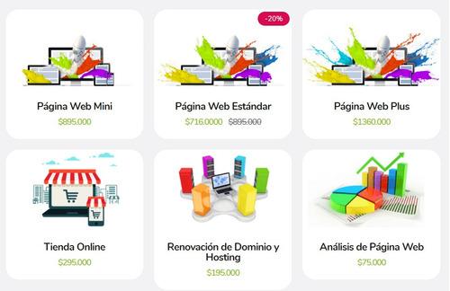 desarrollamos páginas webs y apps móviles según tu necesidad