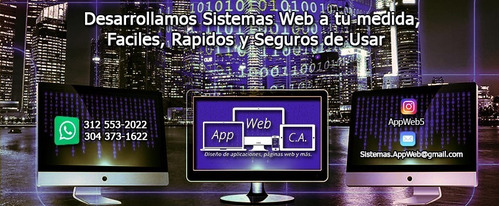 desarrollamos sistemas web a tu medida.