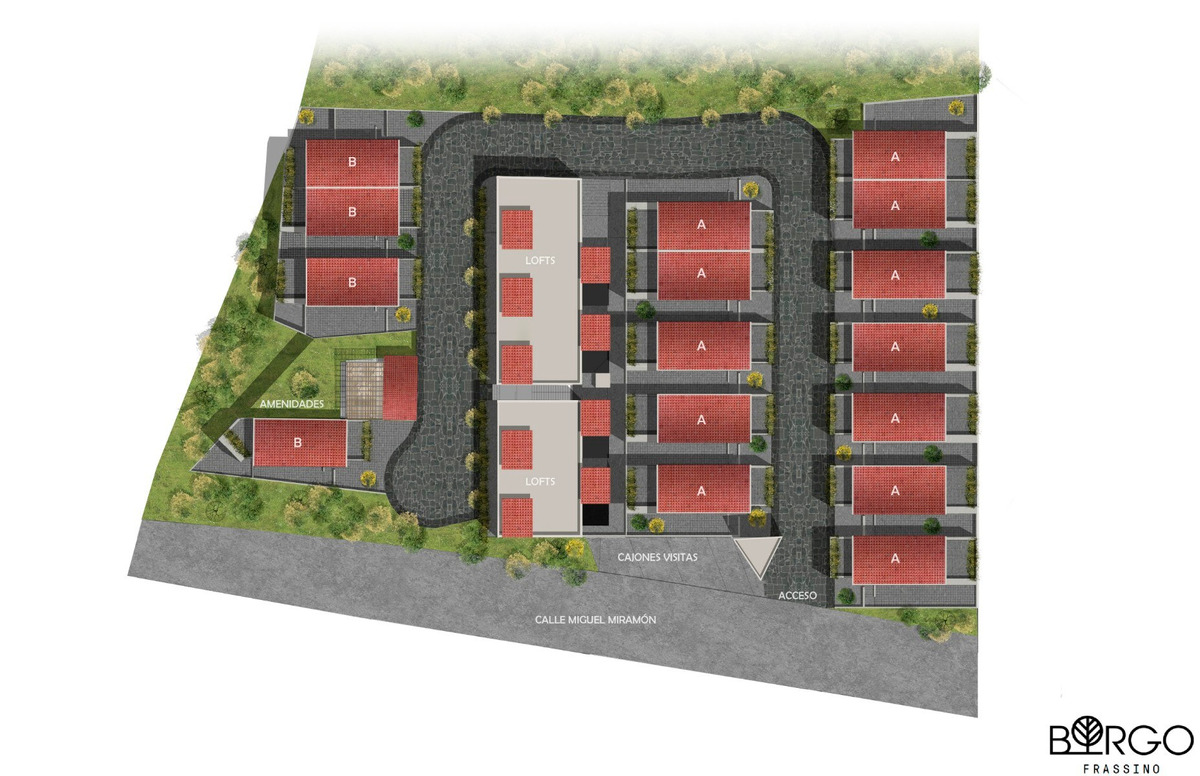desarrollo borgo frassino - lomas verdes