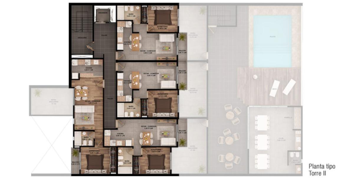desarrollo de 1 dormitorio - excelente inversión
