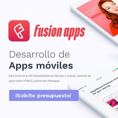 desarrollo de aplicaciones móviles - android & ios a medida