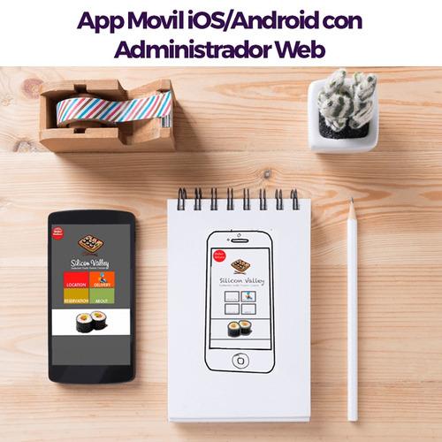 desarrollo de aplicaciones móviles (ios/android) páginas web