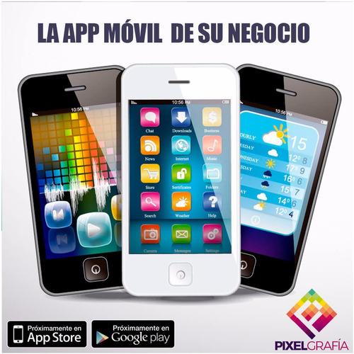 desarrollo de apps móviles ios/android y páginas web