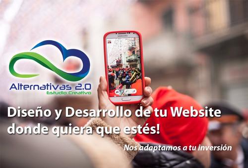 desarrollo de  pagina web imagen , app logos. promociones