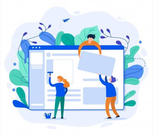 desarrollo de página web responsive + hosting + dominio