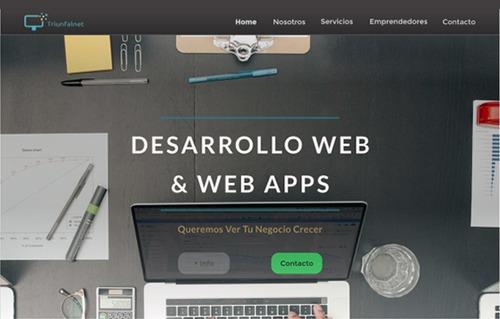 desarrollo de páginas web & web apps