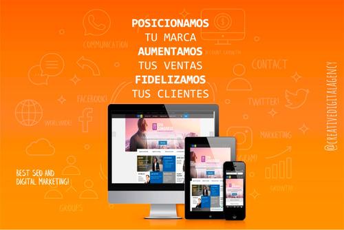 desarrollo de paginas web y social media
